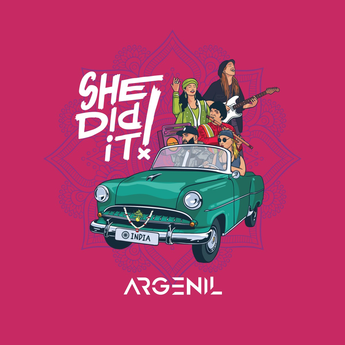 Argenil - She Did It Ft. Eddie Heartthrob